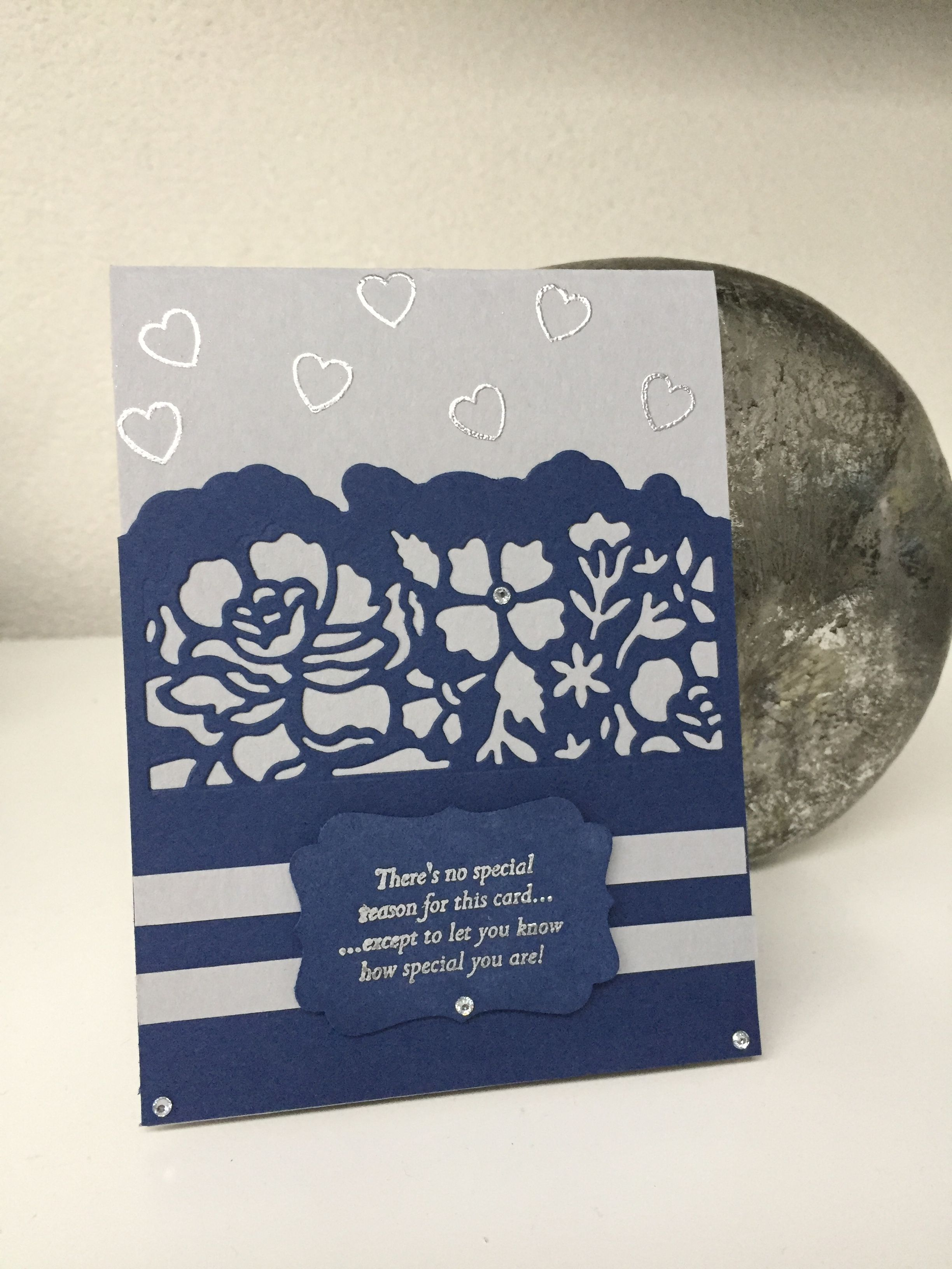 Stampin 'Up Special Reason, Detailed Floral Thinlits Dies,