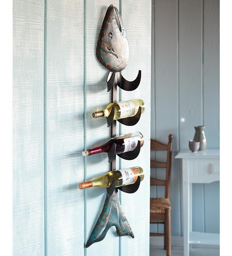 Wall Wine Rack Visiorack Made Of Metal For Horizontal Storage