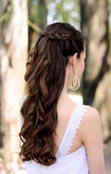 Peinados Inspiradores Para Bodas Peinados Peinado Semirecogido Con Trenzas Peinados Con Trenzas
