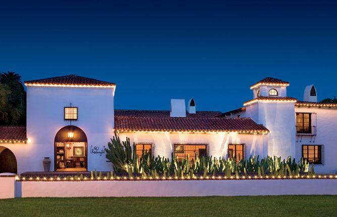 Celebrity Houses And Real Estate Casas De Estilo Espanol Fachada De Casas Mexicanas Casas De Famosos