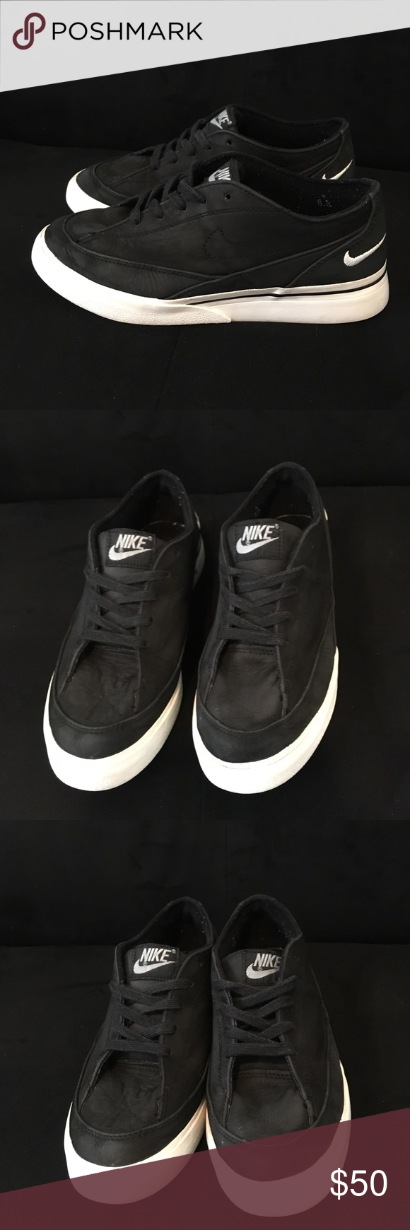 Nike Court Royale Low Top Sneaker Nike Court Royale Low Top Sneaker Black/Black Good Condition  All offers are welcome Nike Shoes Sneakers #woodyandbobeep