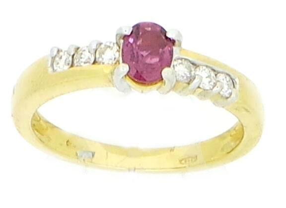 #ring #jewelry #anello #gioielli Anello RUBINO  #orafinrete