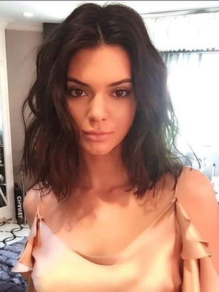 You Have To See The Tattoo Kendall Jenner Was Hiding From The World #curlshorthair