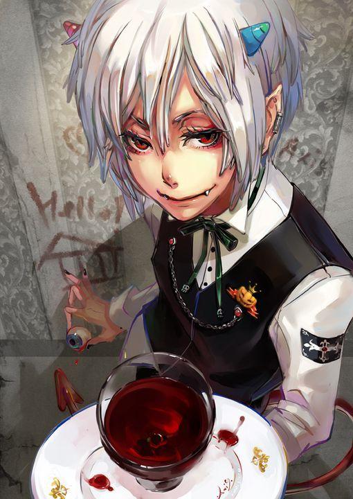 3187635634fdbc86822cbb3e17d0b6b7 Jpg 510 720 Anime Demon Boy
