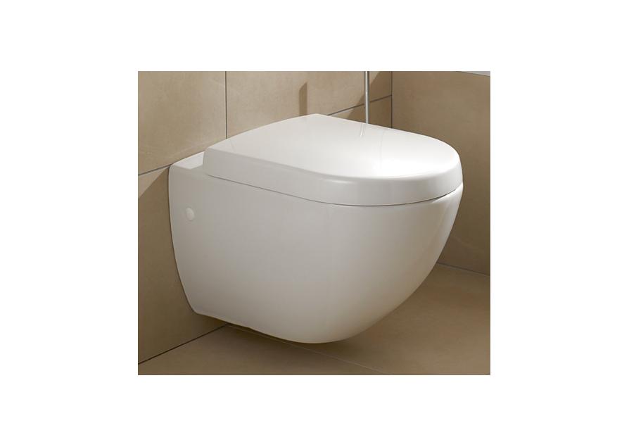66001001 Villeroy & Boch 6K001001 V&B Subway Vegghengt toalett 370x560 mm.