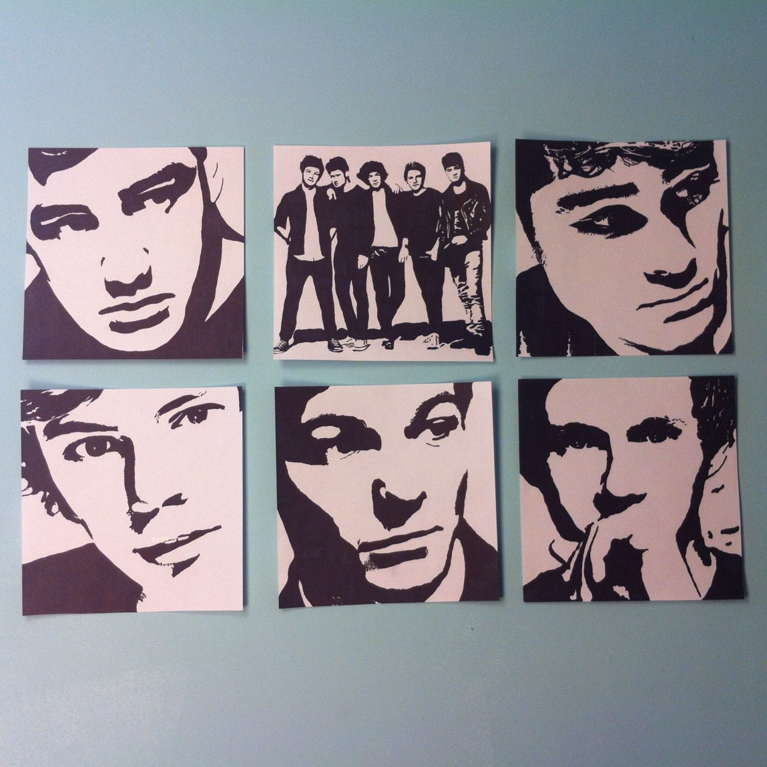 One+Direction+Pop+Art+Package+by+samonstage+on+Etsy,+$20 ...