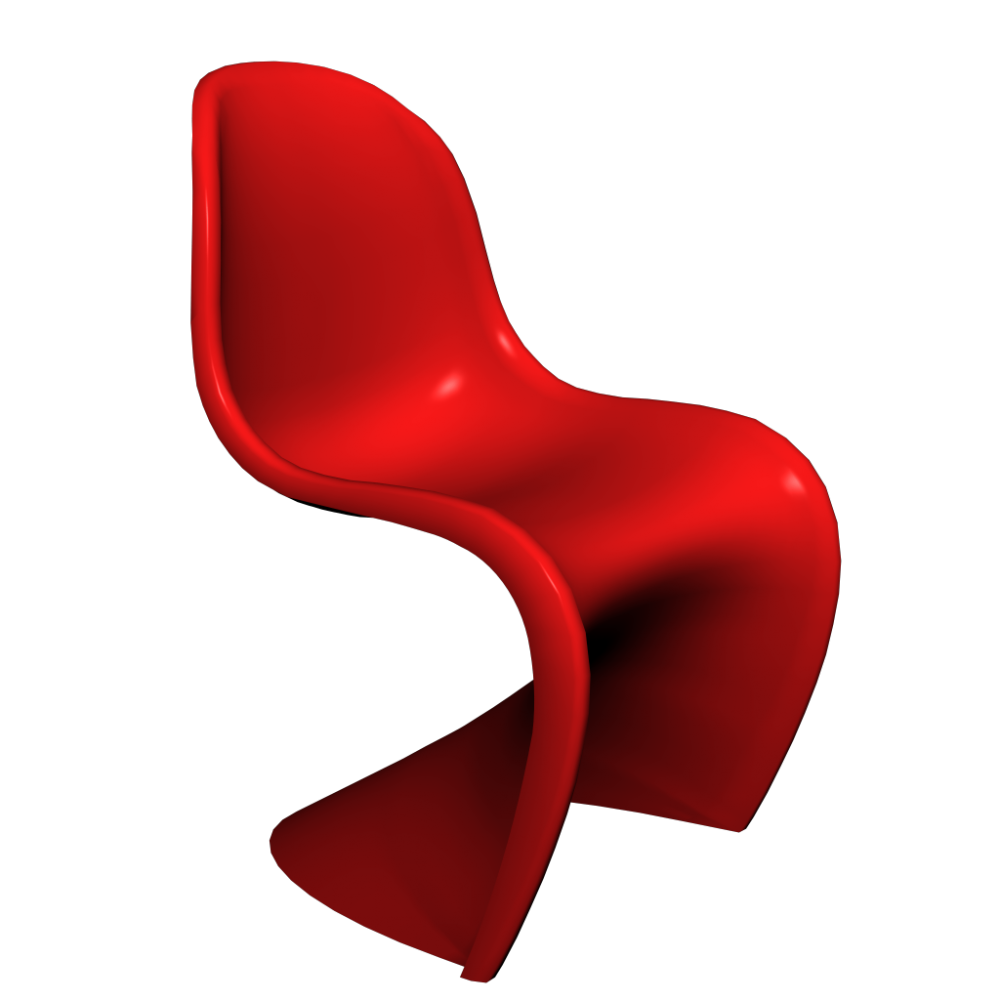 furniture design in chair store moma color red panton home a