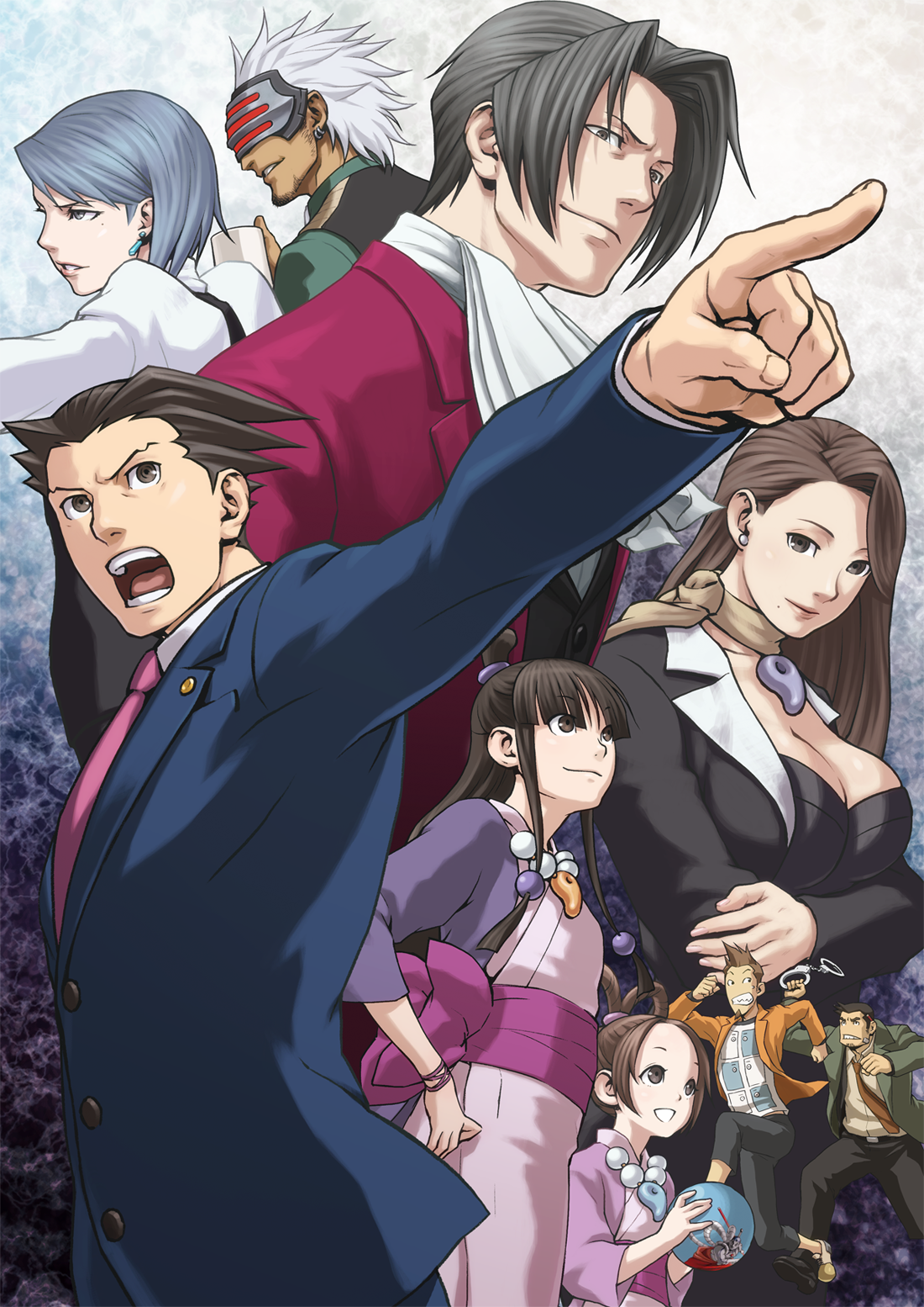 Nycc 14 Phoenix Wright Ace Attorney Trilogy Arrives This December Objection Phoenix Wright Professor Layton Apollo Justice