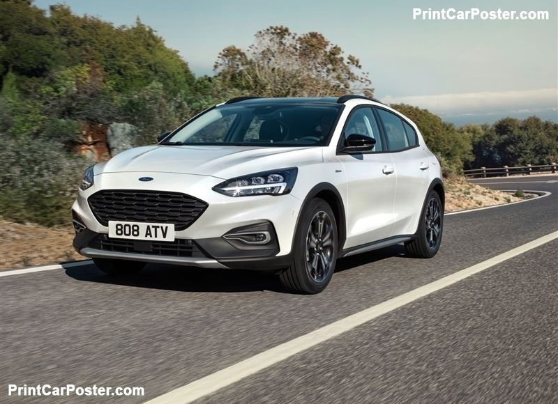 Ford Focus Active 2019 Poster Ford Focus 2019 Ford New Ford Focus