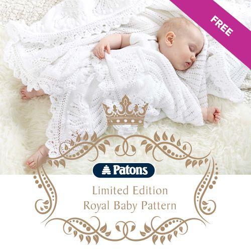 Free Knitting Pattern - Royal Baby Layette By Patons | MakeitCoats