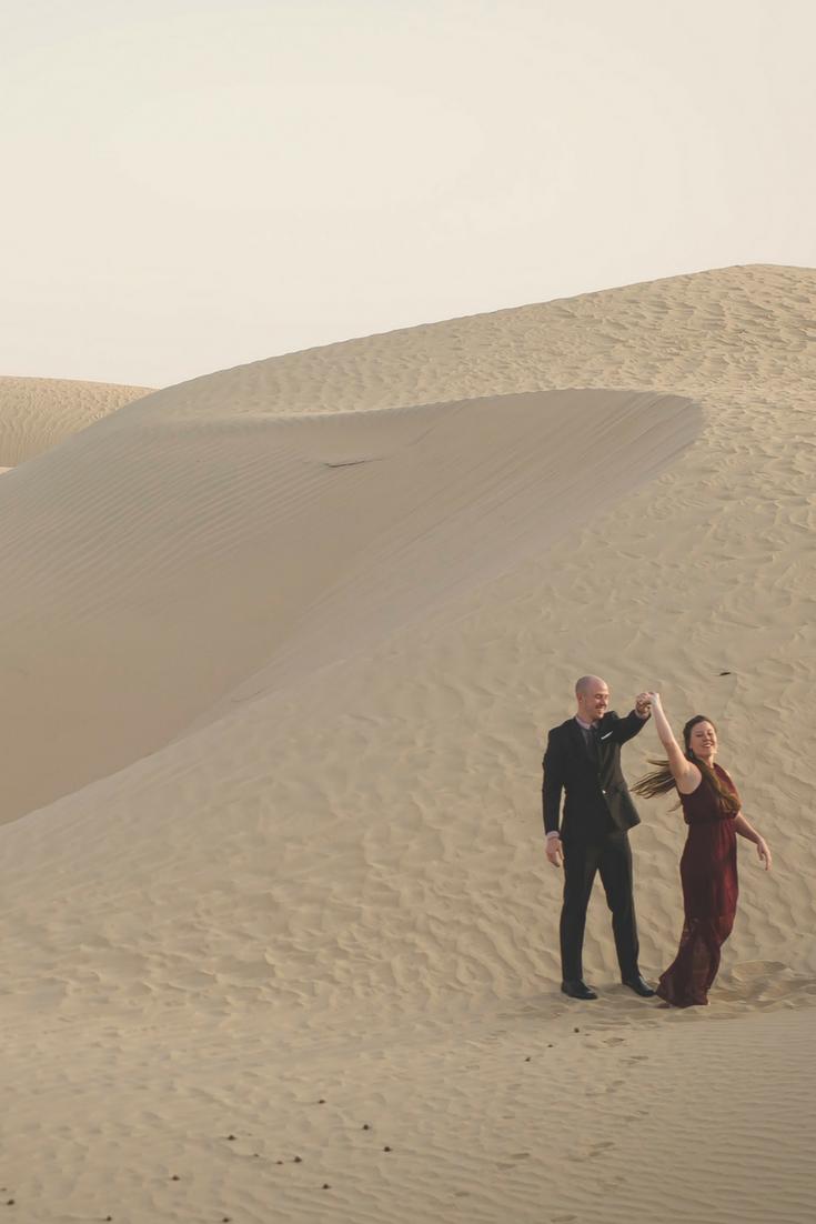 13 Desert Engagement Photos from Abu Dhabi, UAE - Slight North