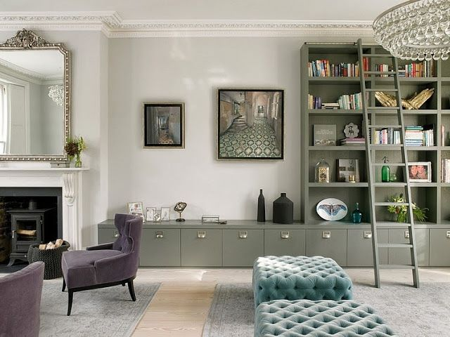 Cool Chic Style Attitude: Interiors | Una casa a Wimbledon, Londra
