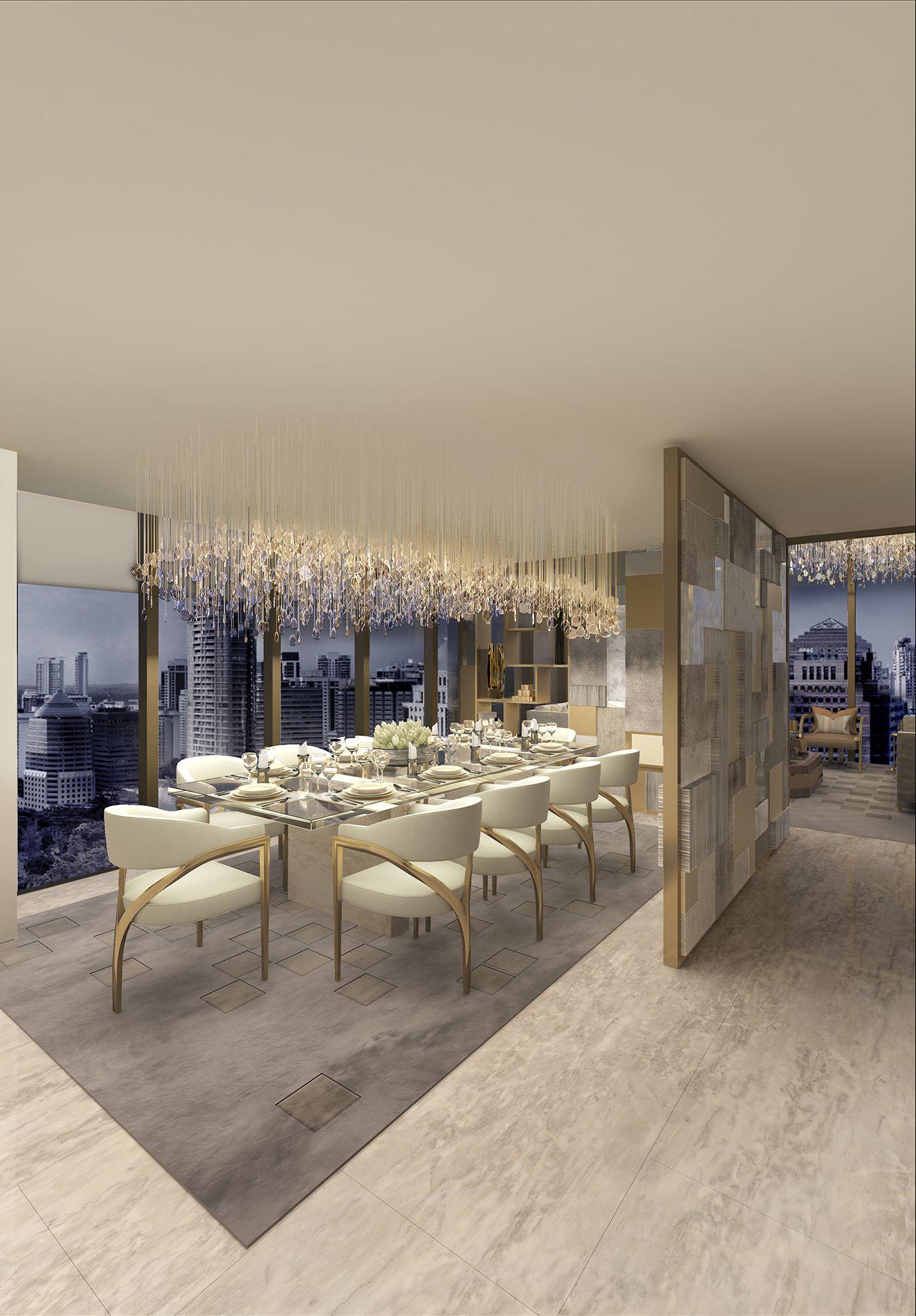 Dining Room The Apartment Singapore Morpheus London Lighting Ideas Pi