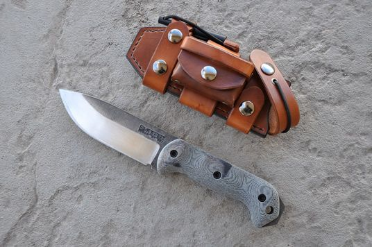 Becker Bk 2 And Some Skystorm Leather Bushcraft Knives