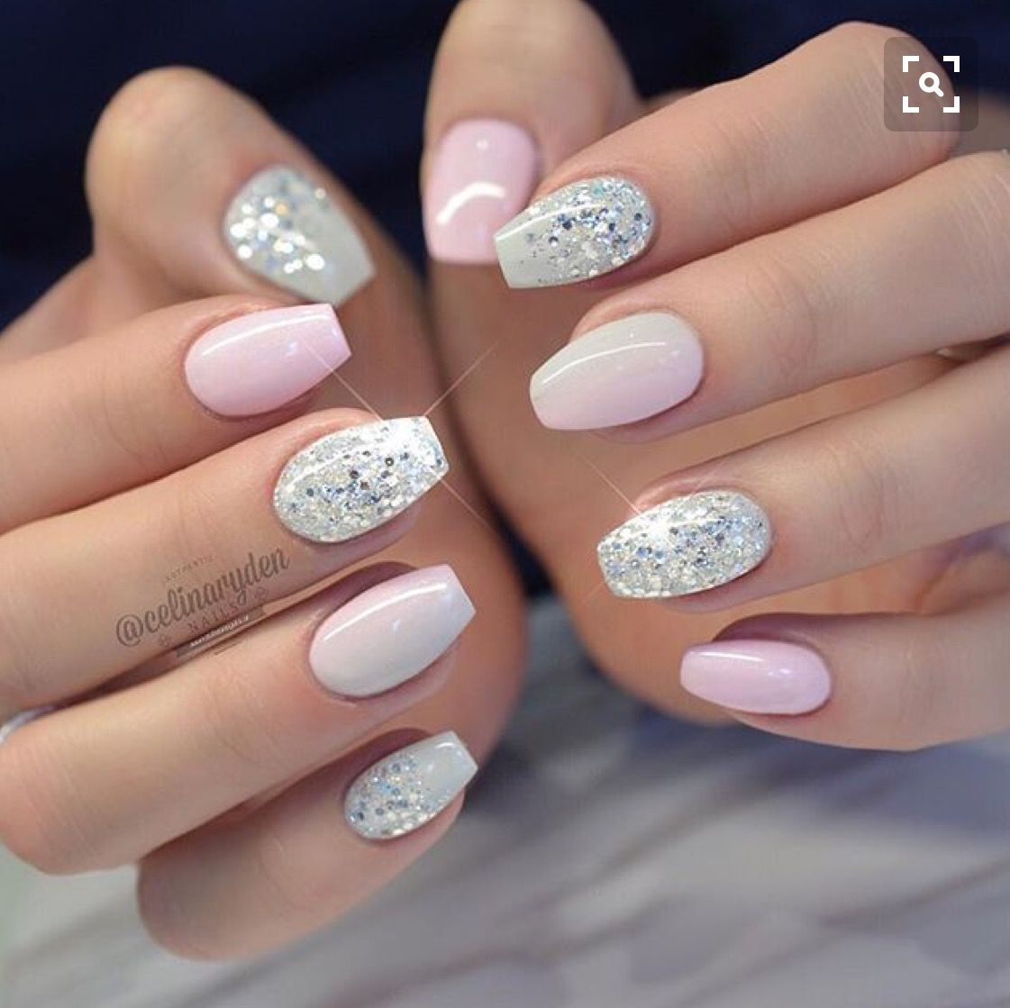Pinterest Evelyn3catherine Follow For More Short Coffin Nails Designs Solid Color Nails Short Acrylic Nails