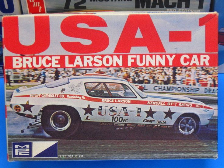 Mpc Bruce Larson S Usa 1 Chevrolet Camaro Funny Car Camaro Models Car Humor Model Kit