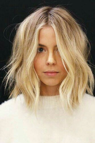 Pin By Martine Kostanich On Hair In 2018 Pinterest Mittellange