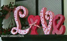 valentine wood crafts  Google Search Il giorno per giorno intorno a San Valentino è cauto una delle mie occasioni preferite da condividere insieme la mia casa e am...