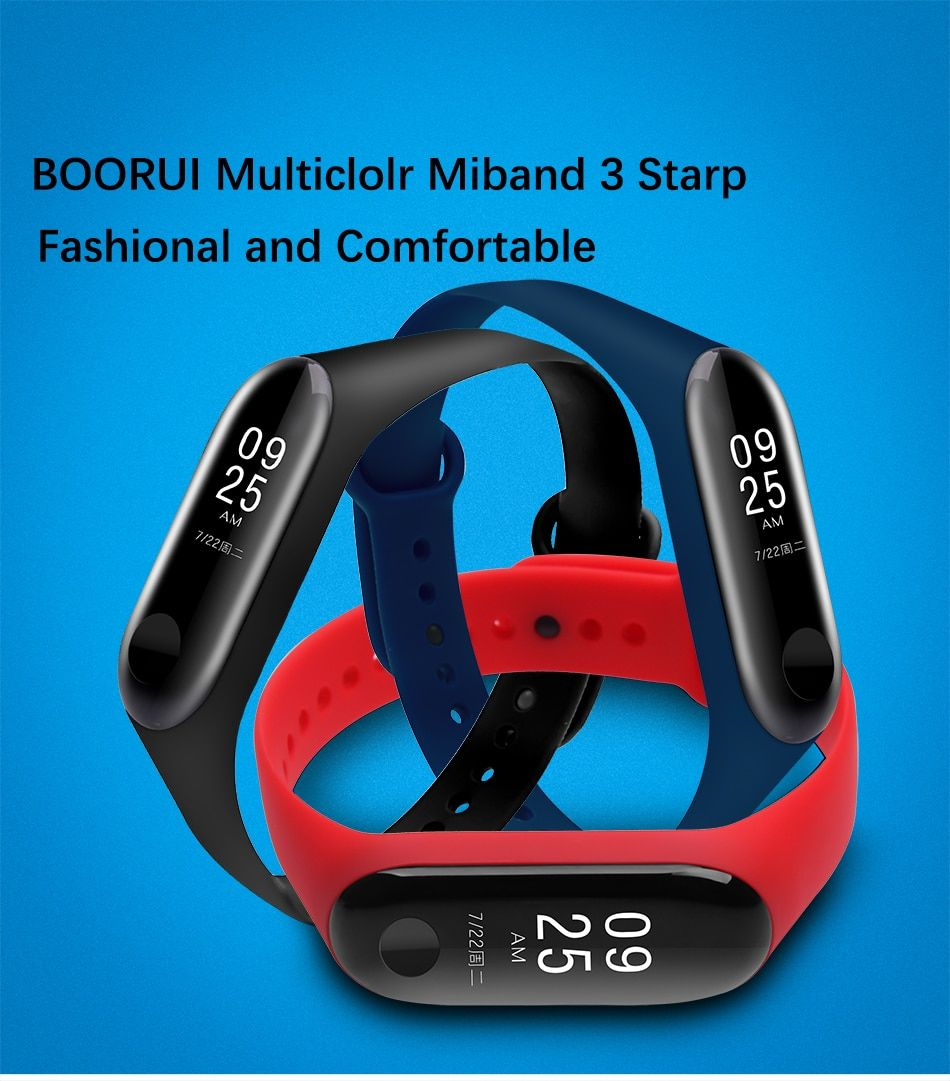 Us 1 12 10 Off Boorui Mi Band 3 4 Strap Wrist Strap For Xiaomi Mi Band 3 4 Silicone Miband 3 4 Accessories Pulsera Correa Mi 3 Replacement Smart Accessories Wrist Strap Wrist Band