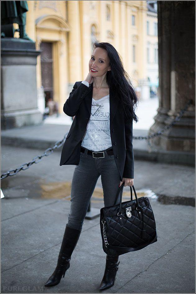 Fashionblog – first styling for spring – Munich, Odeonsplatz