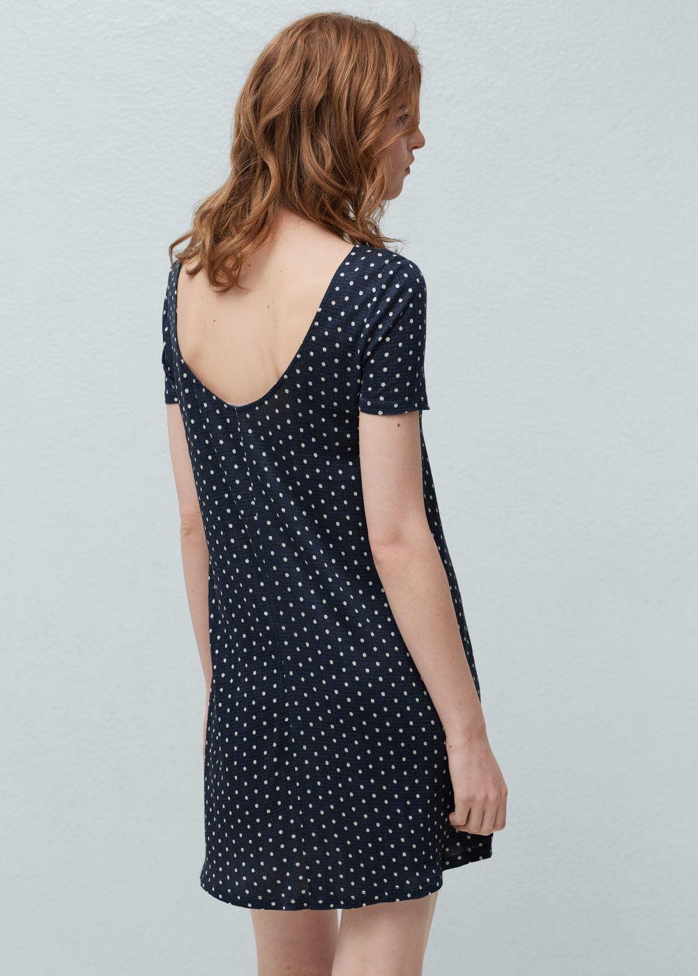 Φόρεμα ριχτό εμπριμέ | MANGO ΜΑΝΓΚΟ