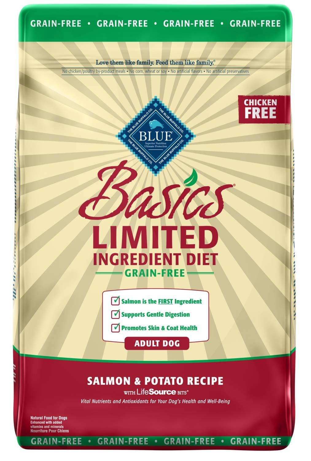 Blue Buffalo Basics Limited Ingredient Diet, Grain Free