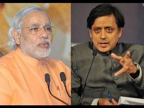 """Minister of State for Human Resource Development Shashi Tharoor hit back at Gujrat Chief Minister Narendra Modi, after the latter called Sunanda Pushkar, Tharoor's wife, '5o-crore-rupee girlfriend,' who had almost 70 crore stake in the Indian Premier League team Kochi Tuskers Kerala. Tharoor, who was accused of misusing his ministry powers to obtain favours from Kochi IPL team, tweeted, """"My wife is worth a lot more than your imaginary 50 crores."""