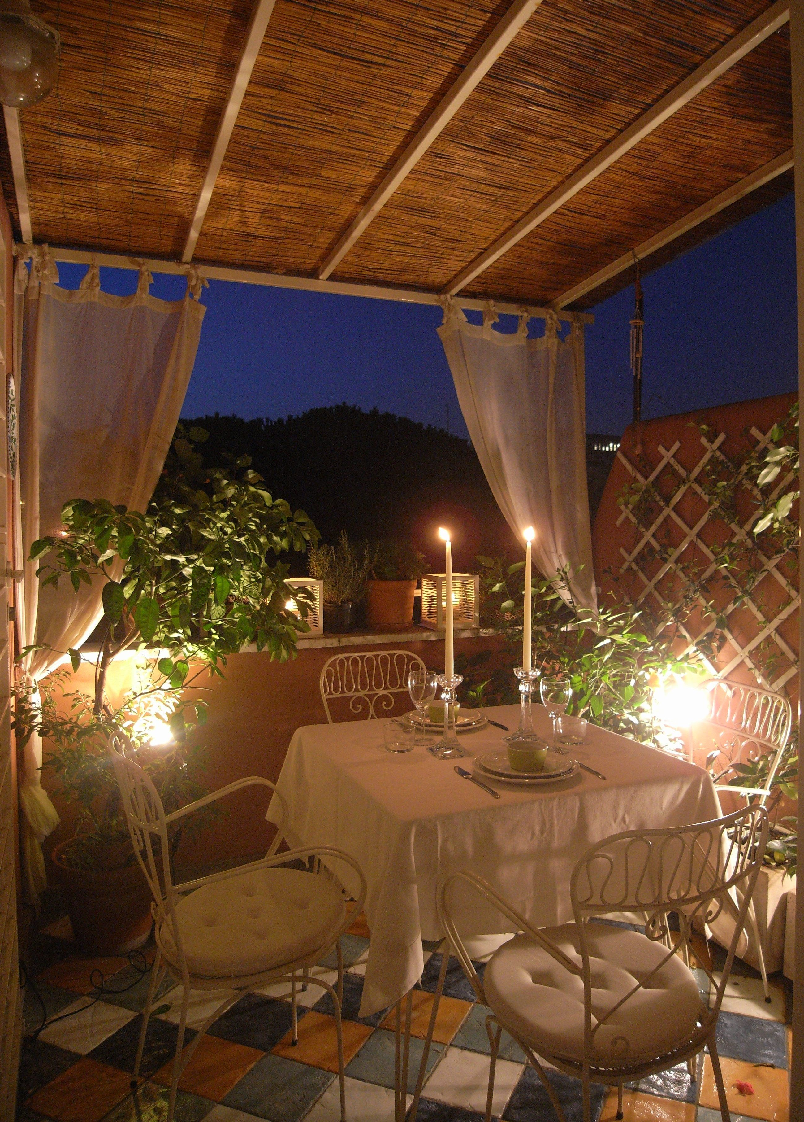 Small apartment of 40 sq.m. The terrace
