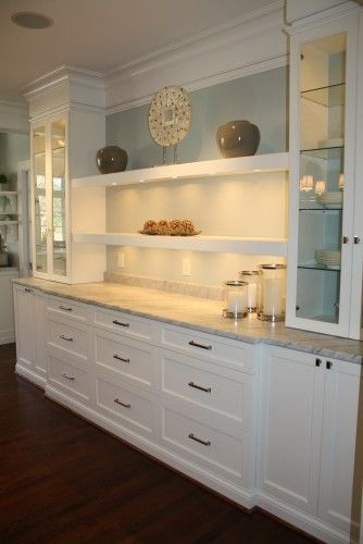 Narrow Shelving Or Cabinets Against Quot Back Quot Short Wall In Kitchen Remove Ironing Board Replace