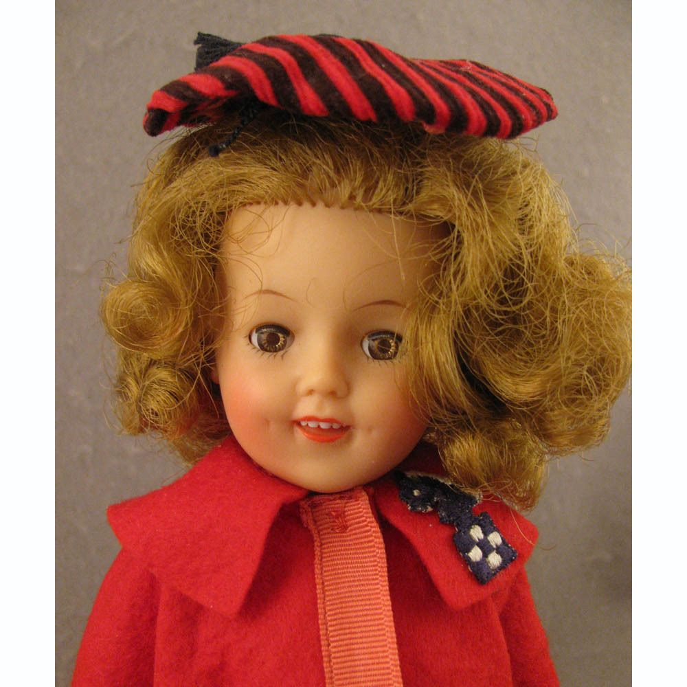 1950s Ideal 12 Vinyl Shirley Temple Doll Shirley Temple Shirley Temple Black Ideal Toys