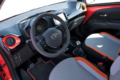 Toyota Aygo interior | Cars | Pinterest
