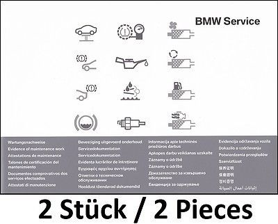 2x orig bmw service manual check manual service booklet log book rh pinterest com bmw service price guide bmw service price guide