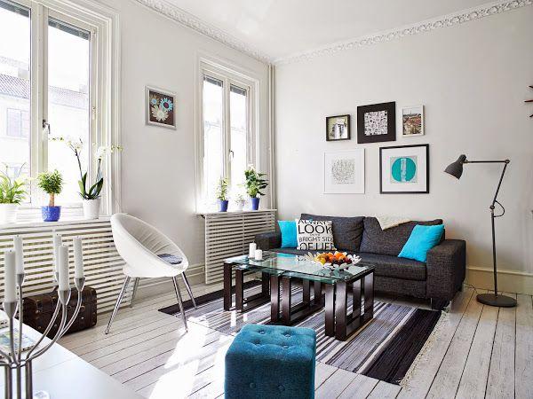 El turquesa vuelve a estar de moda | Decorar tu casa es facilisimo.com