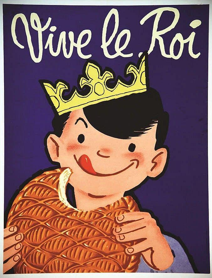 Vive Le Roi 1950 S Vintage Posters Vintage Ads Commercial Art