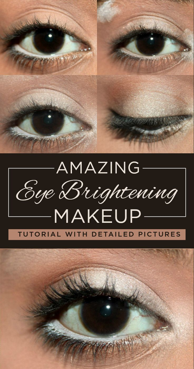 Stunning Eye Brightening Makeup – Tutorial With Detailed Steps And Pictures