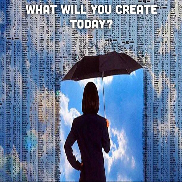 What does it mean to be a creator?  Components to be a creator: self-control, and the will to give.  There are two essential ingredients to be a creator:   To be the cause rather than the effect.  To be a giver - being in a place of love.  What do we look like when we behave as creators: we do not blame anyone, we take responsibility for our actions, and we produce the reality we want in each and every moment - the best reality for us.  http://instagram.com/p/wjLCXerp4y/  #create #inspire…