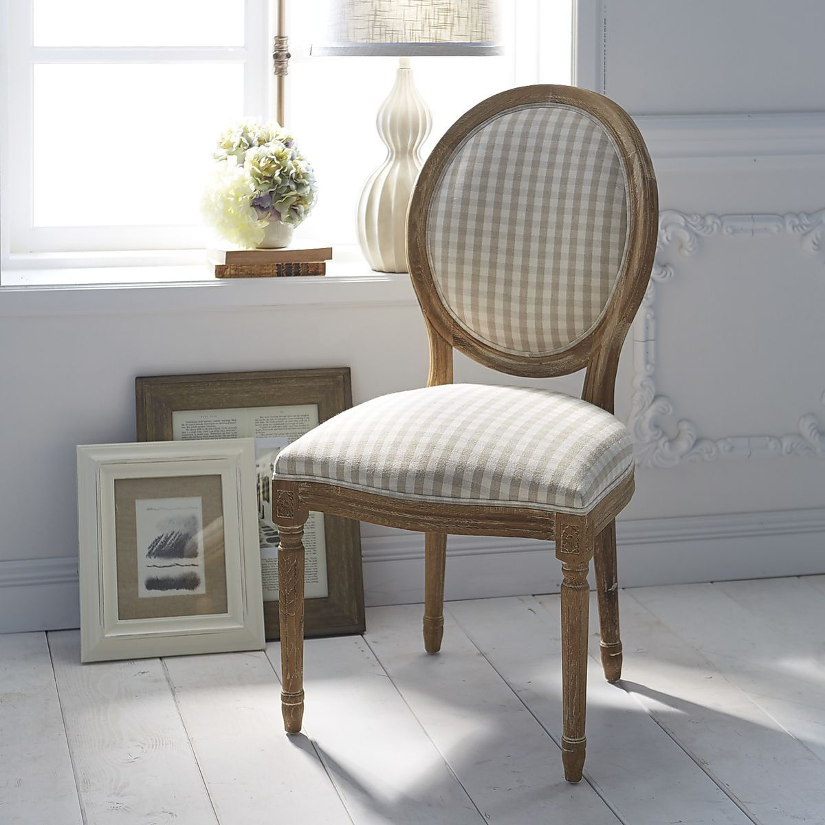 Eliane Dining Chair Natural Whitewash