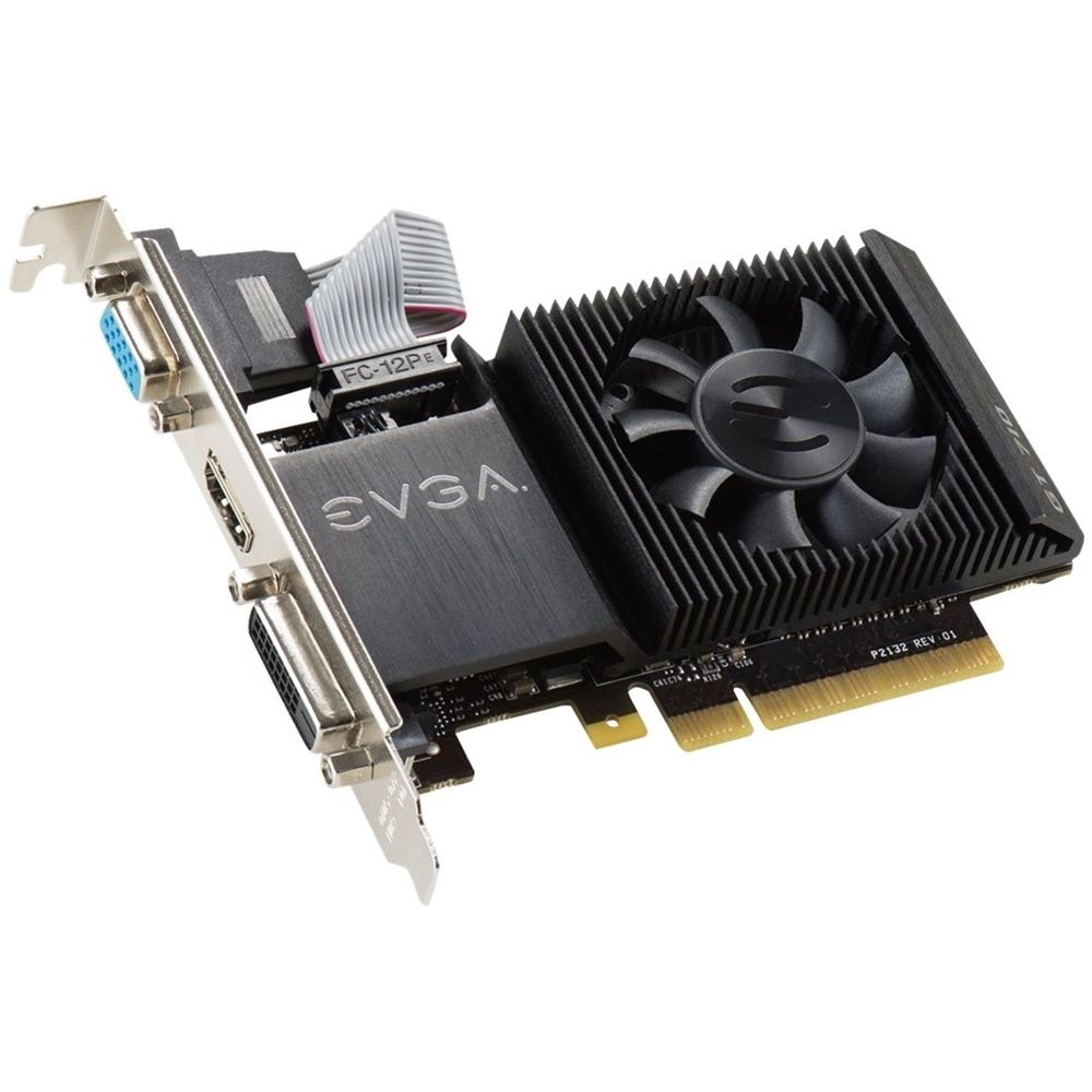 Evga Nvidia Geforce Gt 710 2gb Ddr3 Pci Express 2 0 Graphics