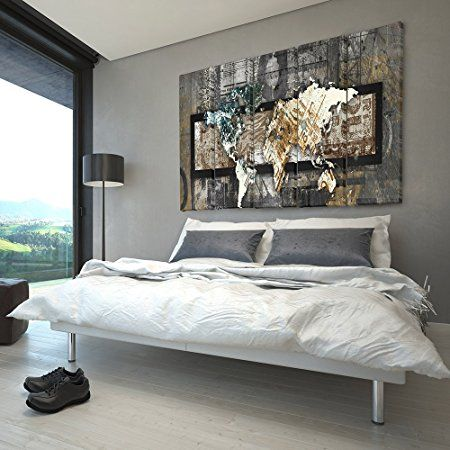 Feeby Frames, Leinwandbild Bilder Wand Bild - 5 Teile - Wandbilder - wandbilder für küche