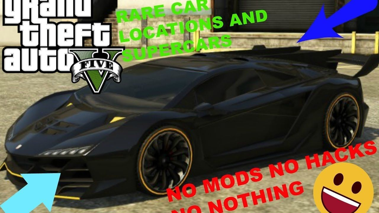 Rare Sports Cars How To Find Rare Cars In Gta 5 Story