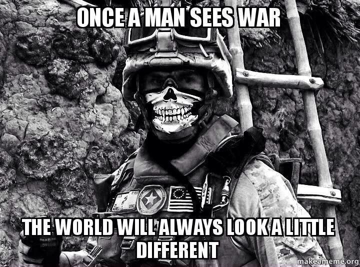 Don't Underestimate An Individual Who Is Willing To Die In
