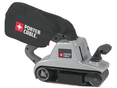 Porter Cable 362 12 Amp 4 Inch By 24 Inch Belt Sander With Cloth Dust Bag Porter Cable Best Random Orbital Sander Best Belt Sander