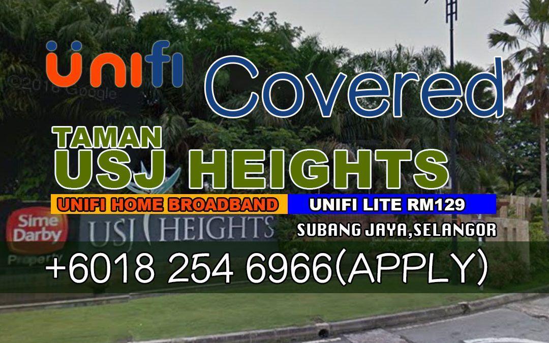 UniFi Subang Jaya Coverage Map Update UniFi