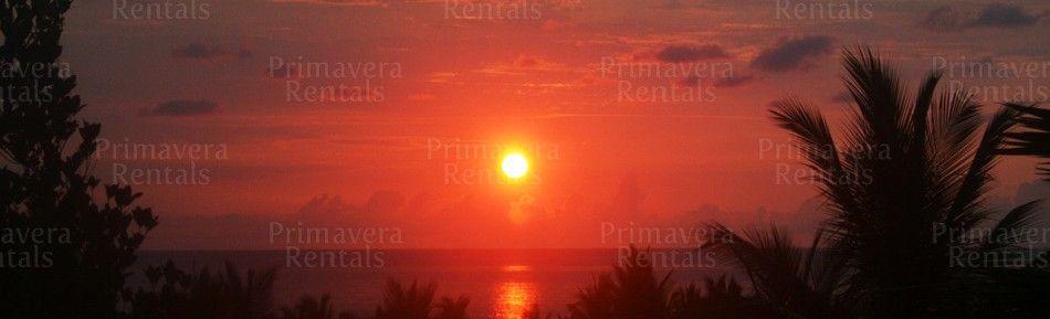 Sunset from Casa Tranquila, Sayulita