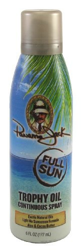 Panama Jack Continuous Spray Trophy Oil 6 oz. (3-Pack) with Free Nail File by Panama Jack. $31.49