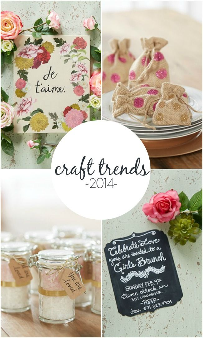Top Craft Trends for 2014