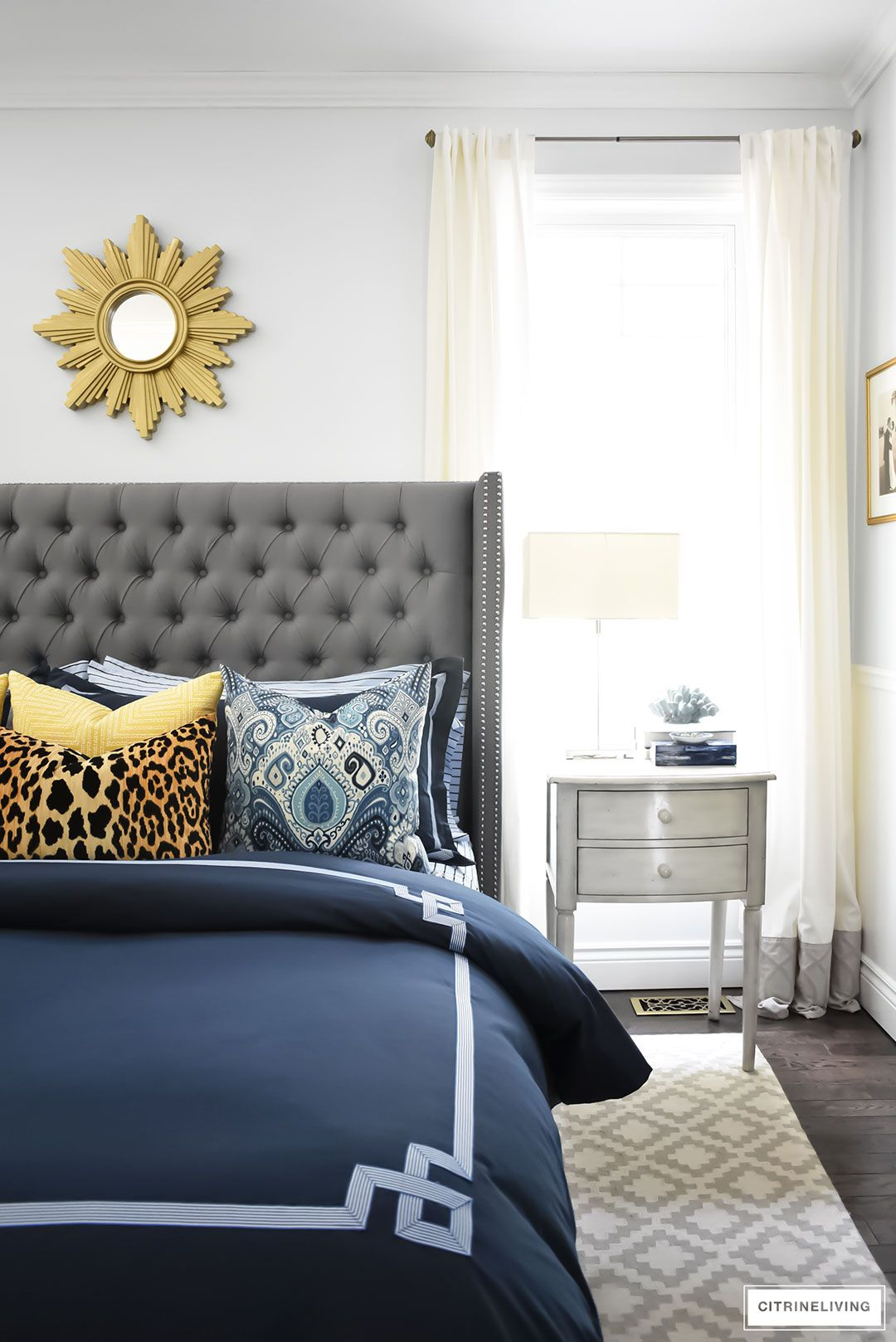 Our New Master Bedroom Bedding For Fall