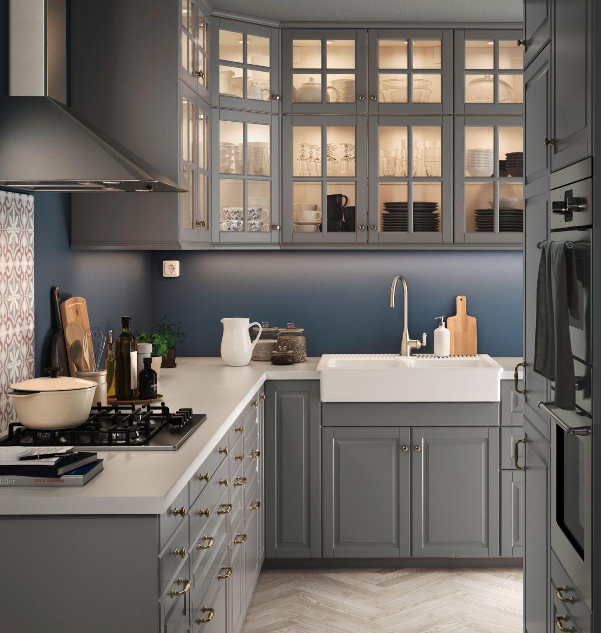 Ikea Kuche Metod Grau   Best Home Ideas 2020   howtohomeinteriors