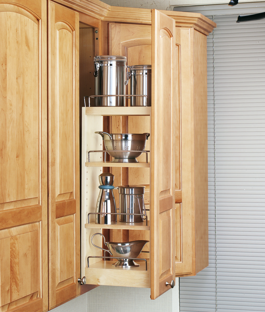 Rev A Shelf 8 Inch Wall Cabinet Organizer Natural 448 Wc 8c Kitchen Cabinet Remodel Wall Cabinet Upper Kitchen Cabinets