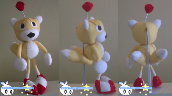 Tails Doll Plushie Sonic R By ~BriteWingz On DeviantART